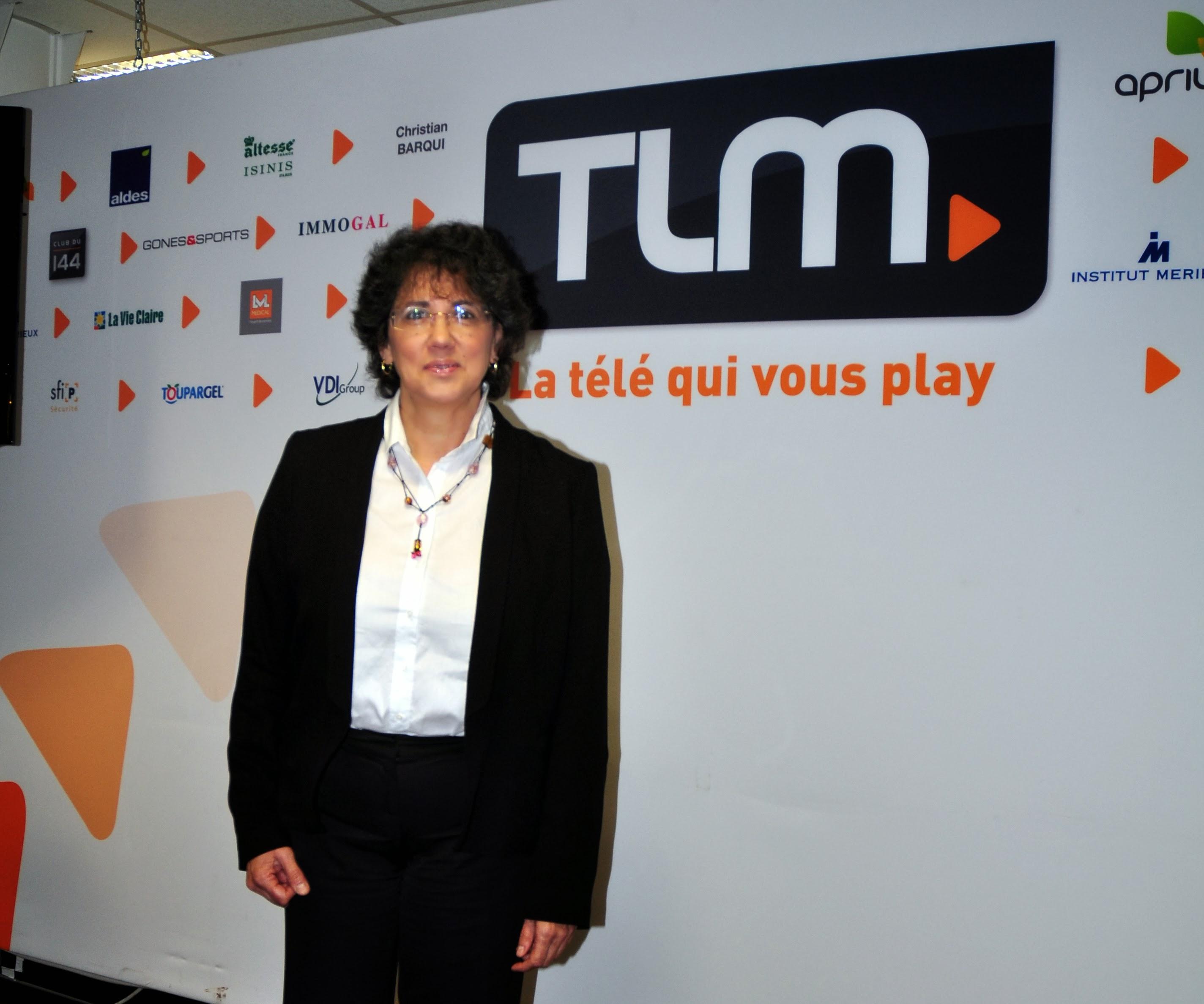 Monique Cosson avant le débat