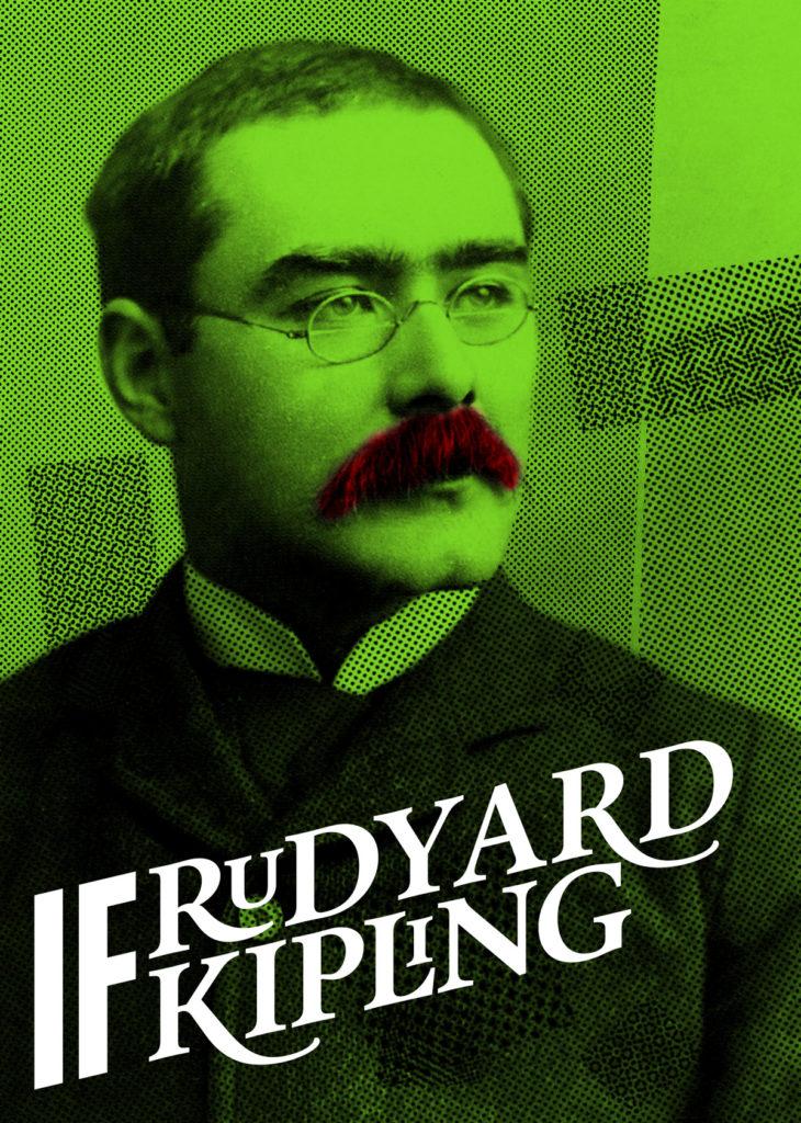 Rudyard Kipling photo John Palmer retraited by Estève Gili no©